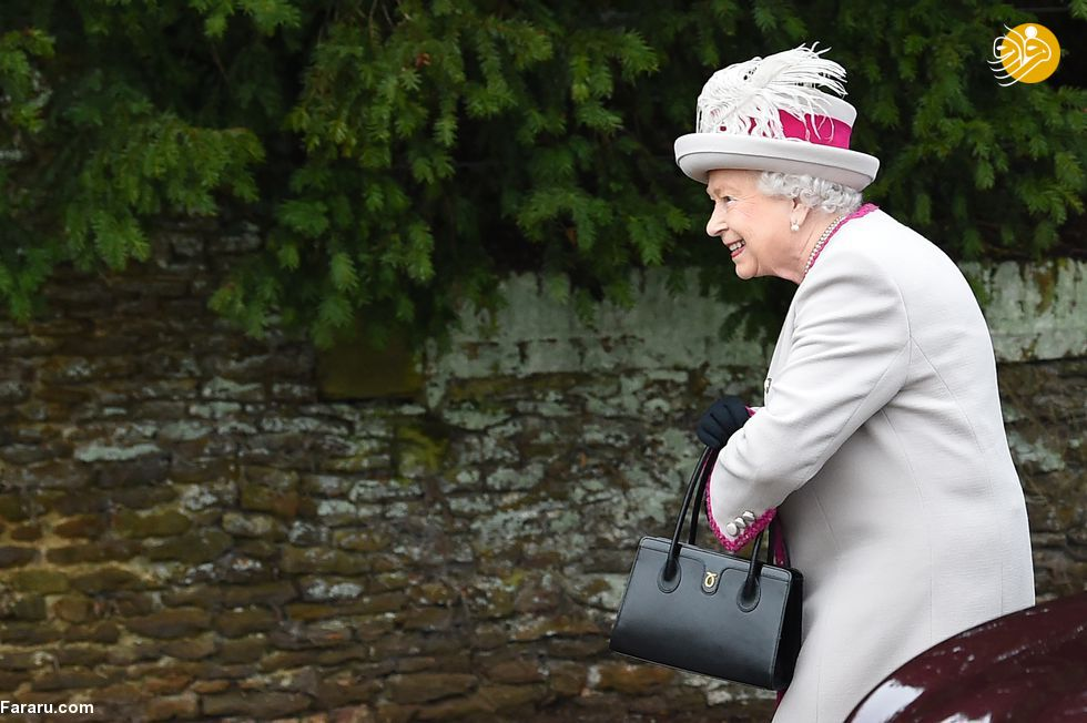(تصاویر) پوشش خاندان سلطنتی بریتانیا در کریسمس - 15