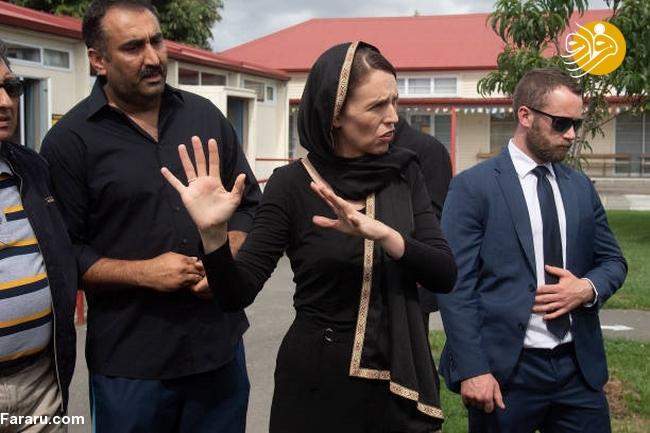 (تصاویر) نخست وزیر نیوزیلند باحجاب شد! - 14
