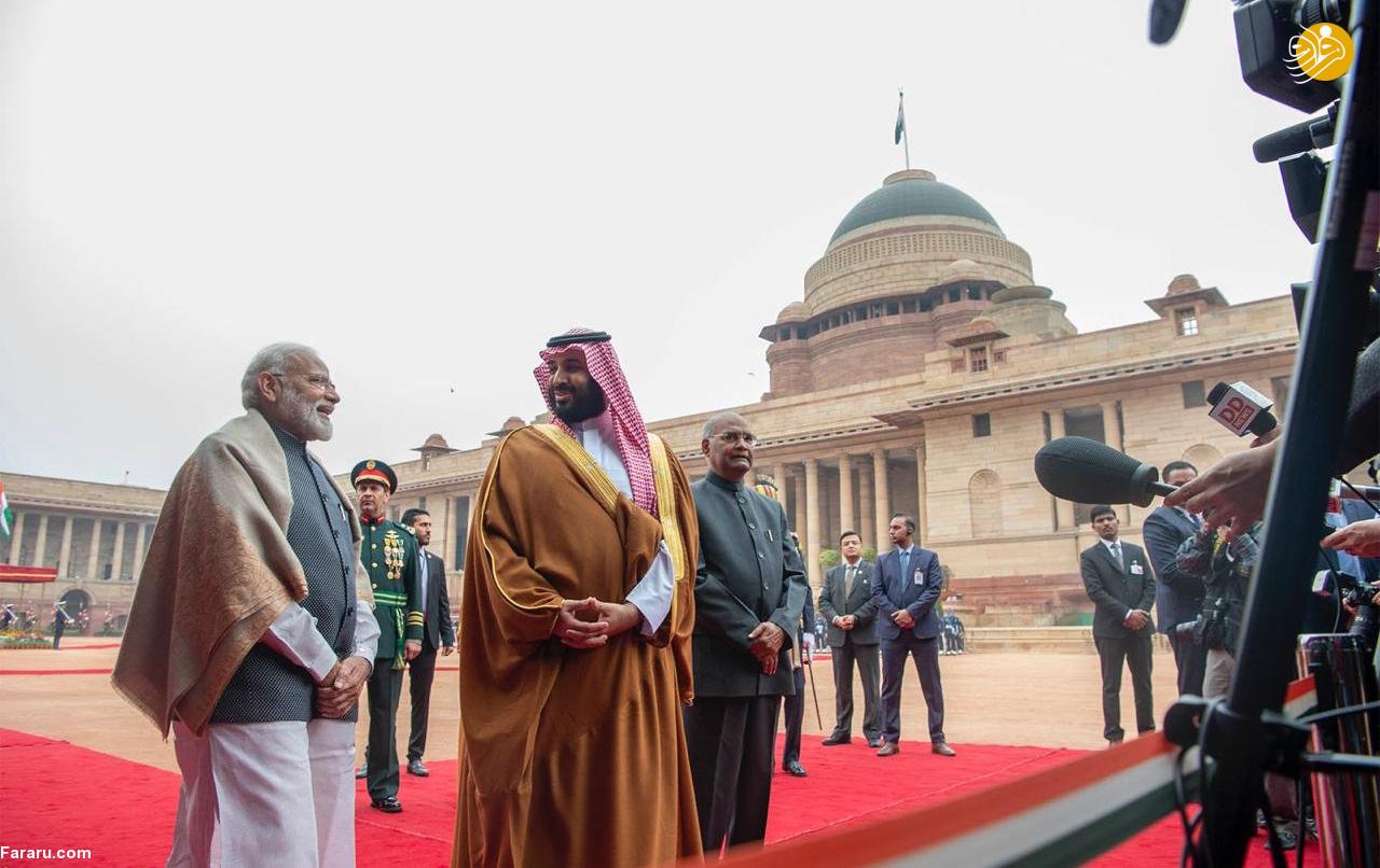 (تصاویر) استقبال خلاف عرف نخستوزیر هند از بنسلمان - 23