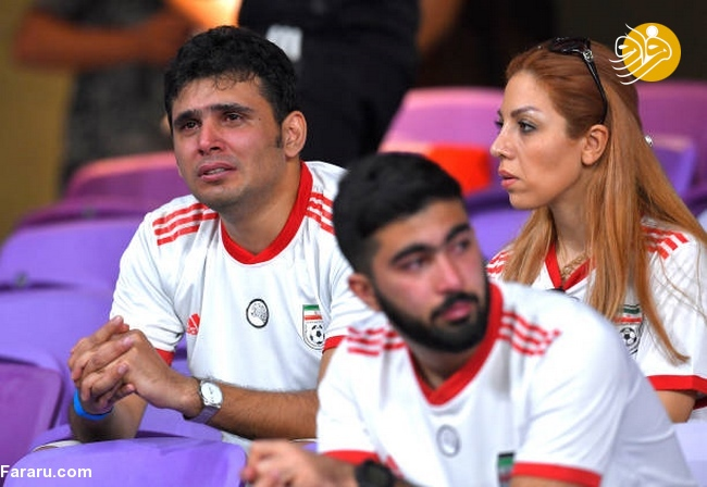 (تصاویر) شب تلخ هوادارن ایران در امارات - 28