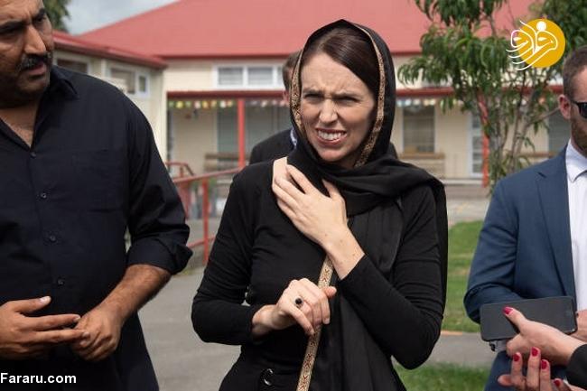 (تصاویر) نخست وزیر نیوزیلند باحجاب شد! - 12