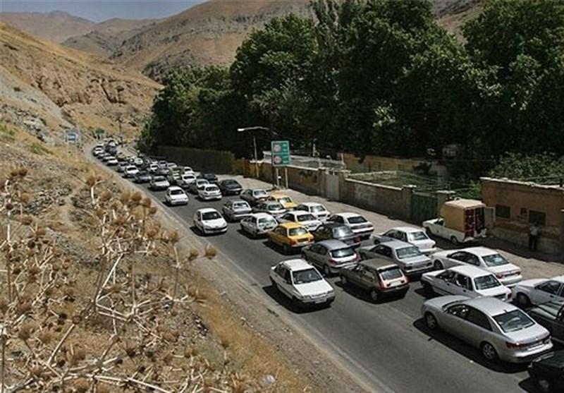 ترافیک سنگین در هراز؛ مسافران از محور فیروزکوه تردد کنند - 0