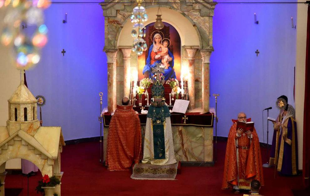 (تصاویر) آغاز سال نو در کلیسای سرکیس مقدس تهران - 5