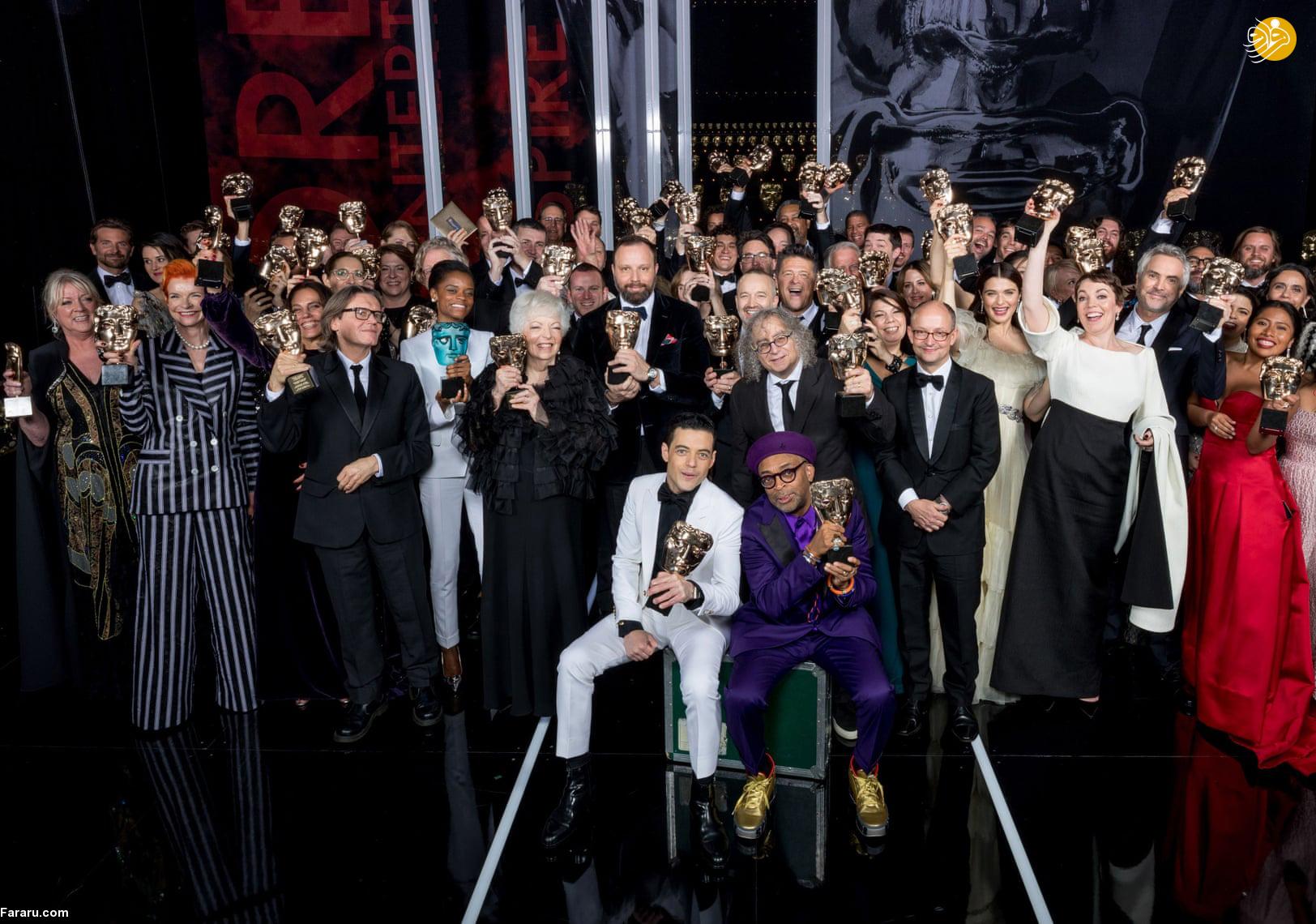 (تصاویر) مراسم اهدای جوایز بفتا؛ درخشش سوگلی و رما - 34