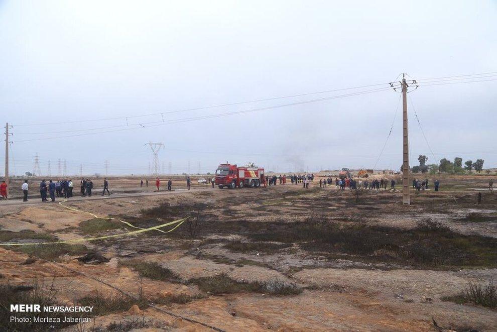 (تصاویر) انفجار خط لوله نفت اهواز به رامهرمز - 1