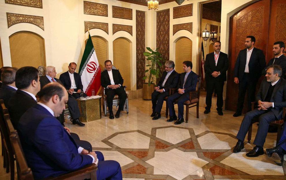 (تصاویر) دیدار جهانگیری با وزیر امور خارجه سوریه - 16