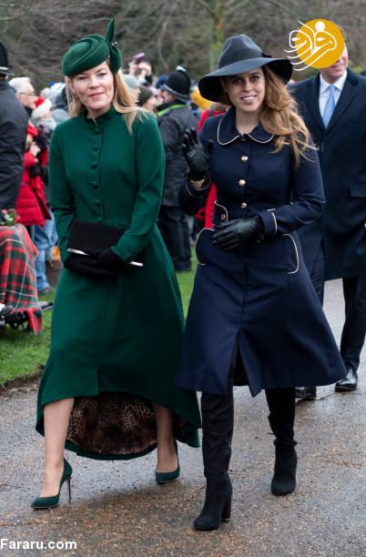 (تصاویر) پوشش خاندان سلطنتی بریتانیا در کریسمس - 7