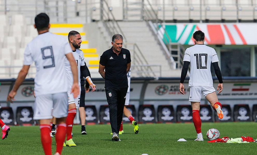 (تصاویر) آخرین تمرین تیم ملی فوتبال قبل از بازی با ویتنام - 11