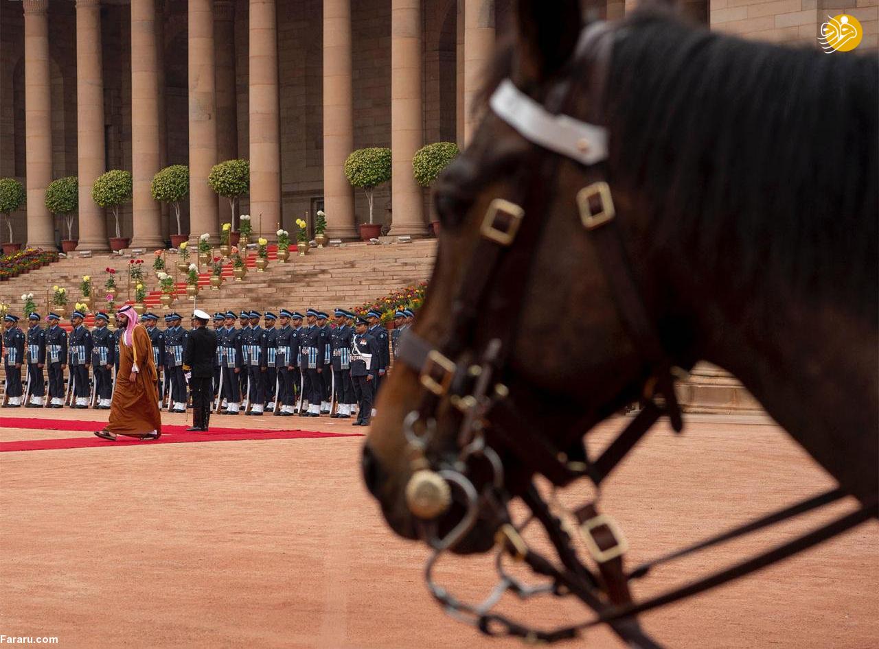 (تصاویر) استقبال خلاف عرف نخستوزیر هند از بنسلمان - 20
