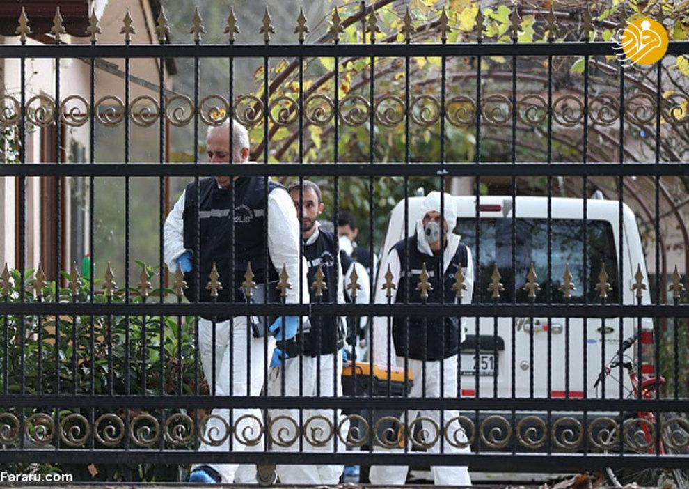 (تصاویر) جستجوی جسد خاشقچی در ویلای یک شهروند سعودی - 6