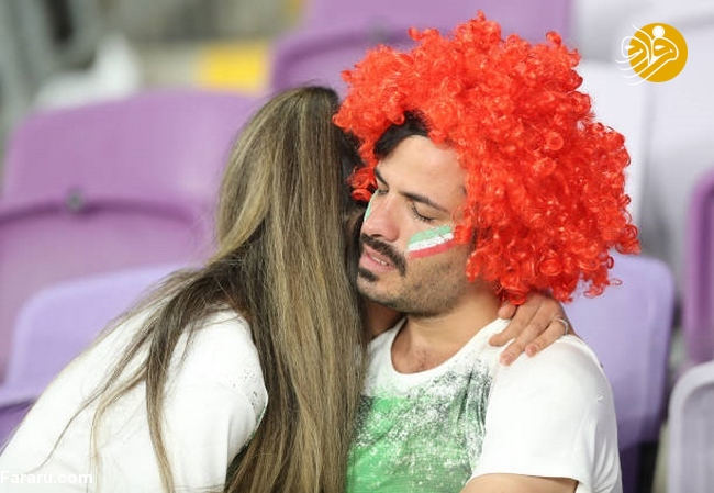 (تصاویر) شب تلخ هوادارن ایران در امارات - 35