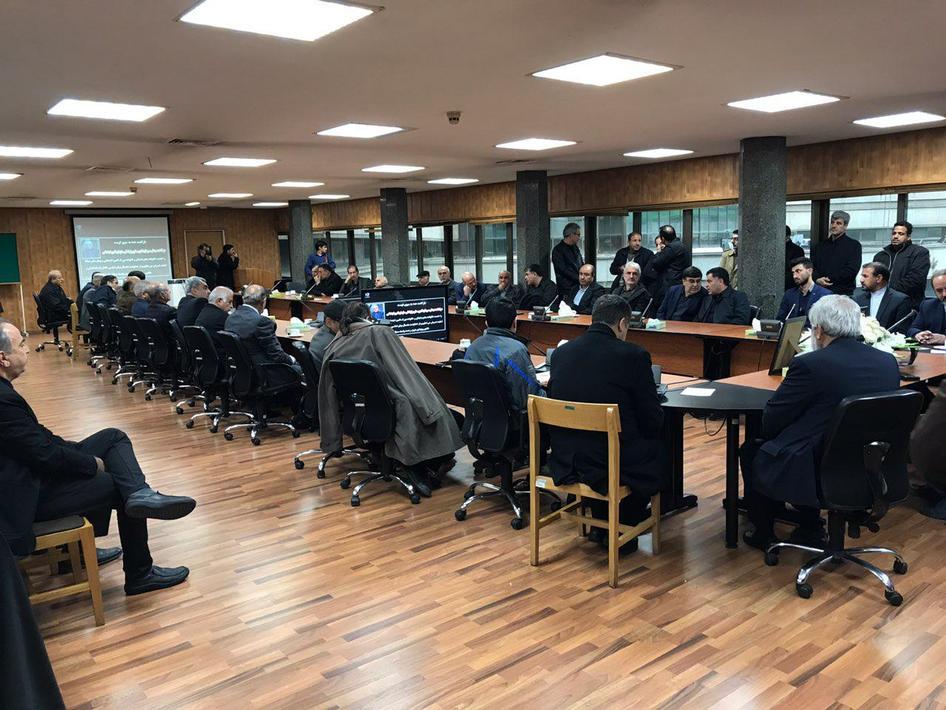 (تصاویر) استقبال از پیکر مدیر عامل تامین اجتماعی در تهران - 12