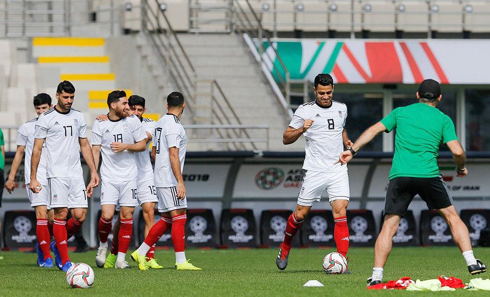 (تصاویر) آخرین تمرین تیم ملی فوتبال قبل از بازی با ویتنام - 9