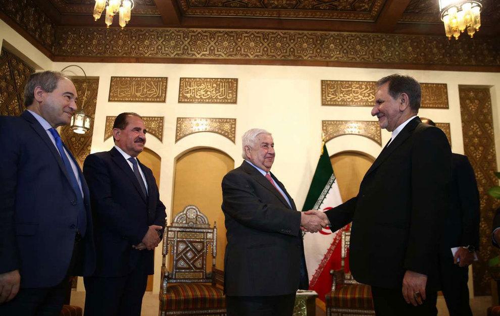 (تصاویر) دیدار جهانگیری با وزیر امور خارجه سوریه - 9