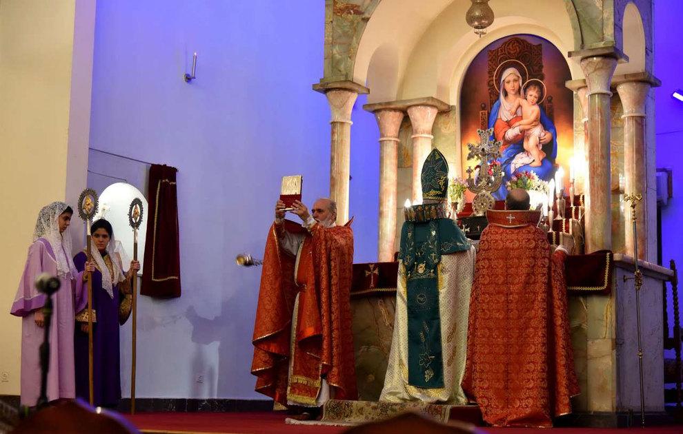 (تصاویر) آغاز سال نو در کلیسای سرکیس مقدس تهران - 3