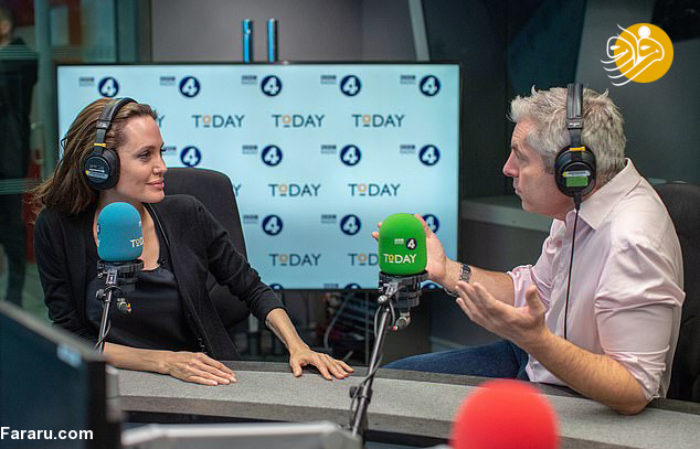 (تصاویر) آنجلینا جولی در بیبیسی - 13