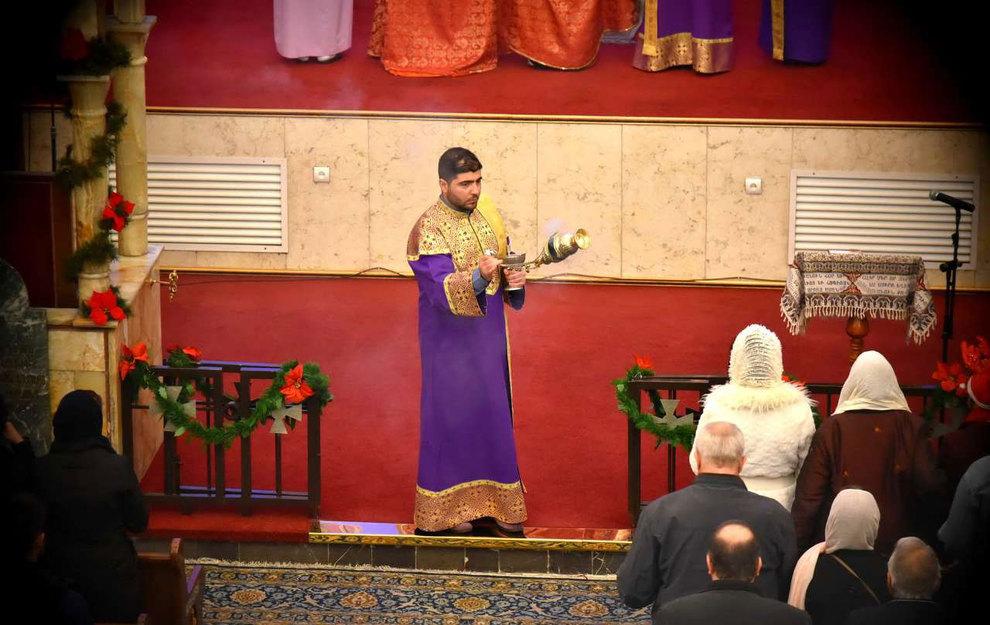 (تصاویر) آغاز سال نو در کلیسای سرکیس مقدس تهران - 6