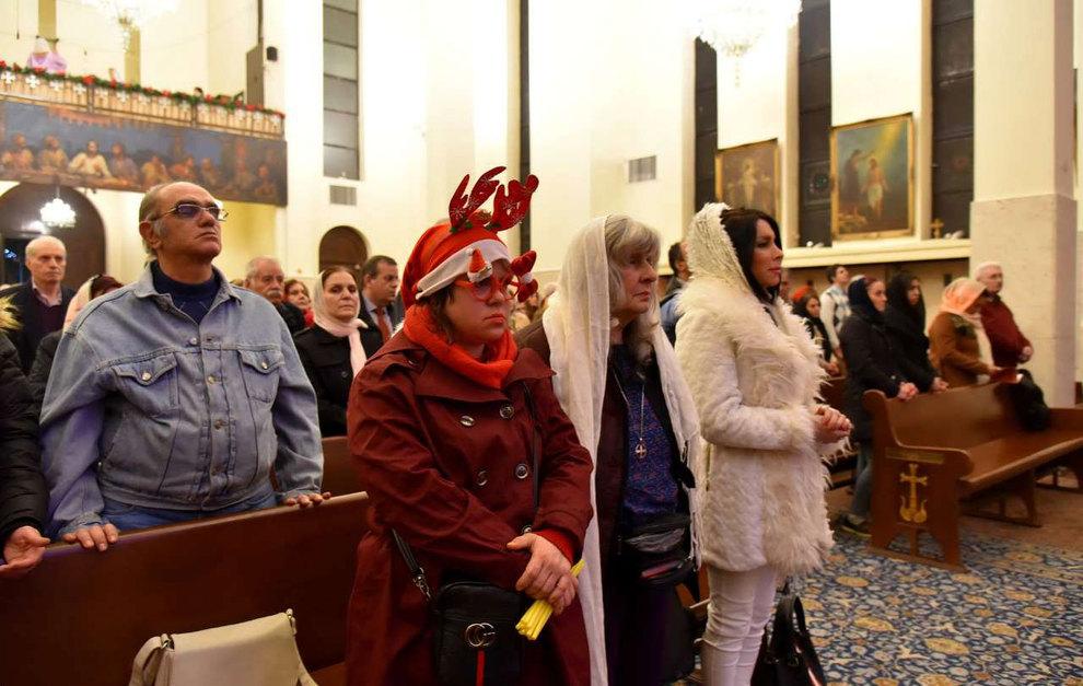 (تصاویر) آغاز سال نو در کلیسای سرکیس مقدس تهران - 10