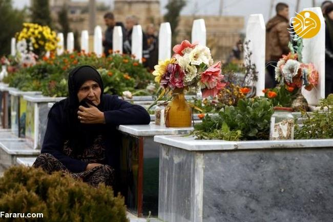 (تصاویر) تشییع دختر کشته شده در جنگ با داعش - 11