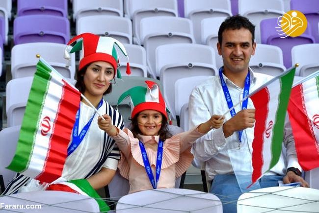 (تصاویر) شب تلخ هوادارن ایران در امارات - 21