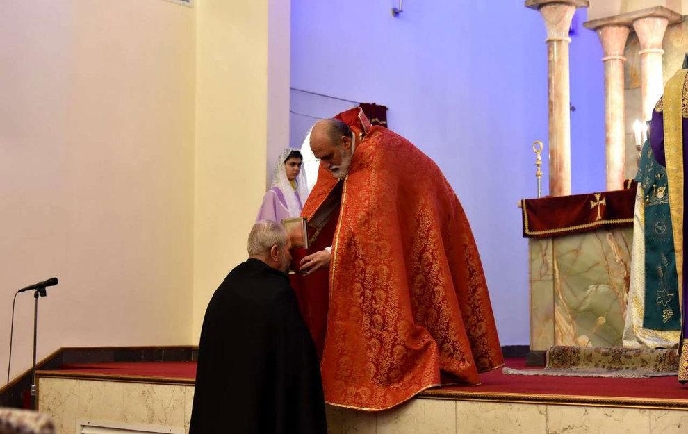 (تصاویر) آغاز سال نو در کلیسای سرکیس مقدس تهران - 4