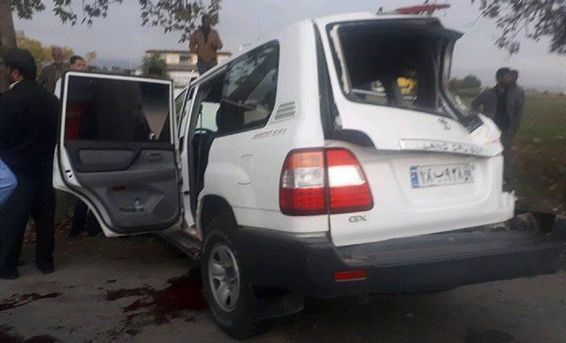 (تصاویر) تصادف شدید خودروی رئیس سازمان تامین اجتماعی - 6