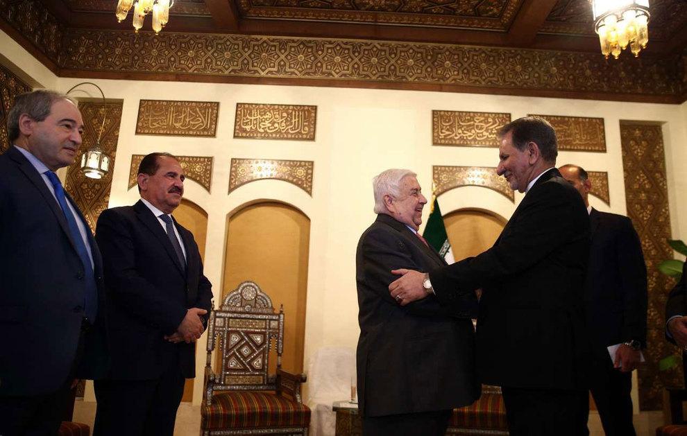 (تصاویر) دیدار جهانگیری با وزیر امور خارجه سوریه - 10