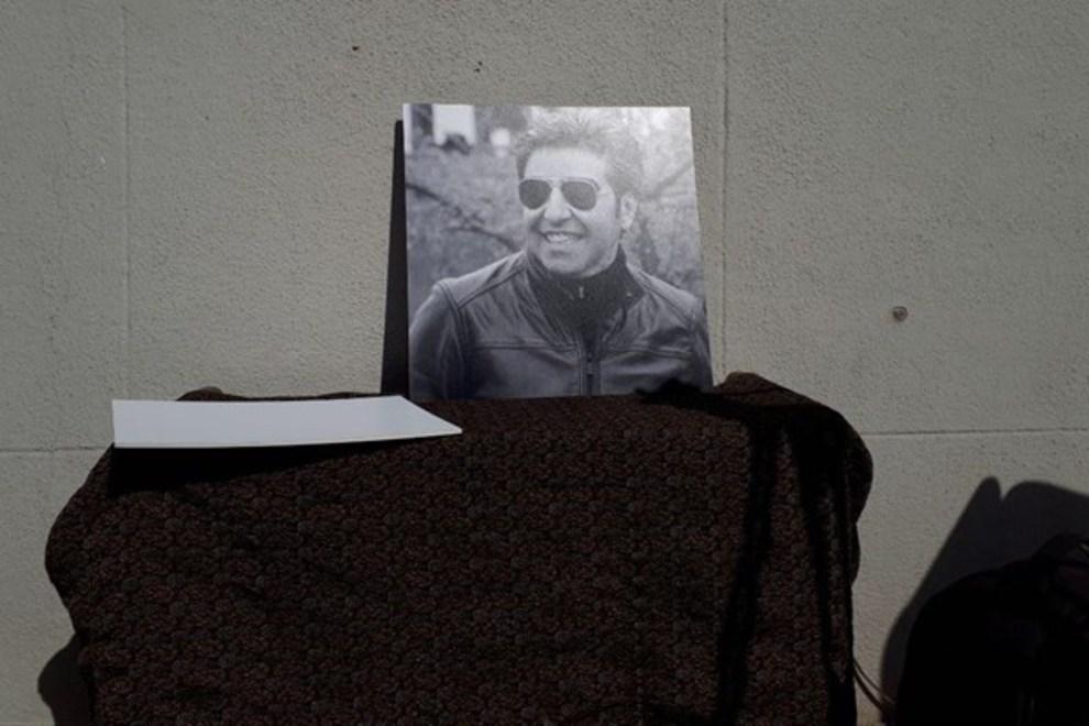 (تصاویر) چهرهها در مراسم تشییع خشایار الوند - 4