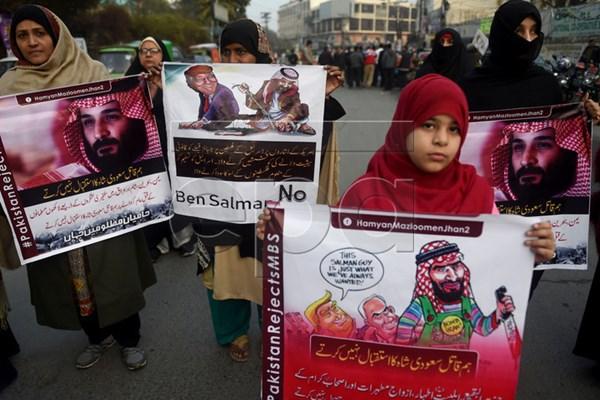 استقبال سرد مردم پاکستان از ولیعهد عربستان+تصاویر - 22