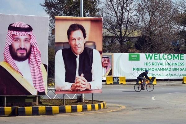 استقبال سرد مردم پاکستان از ولیعهد عربستان+تصاویر - 8