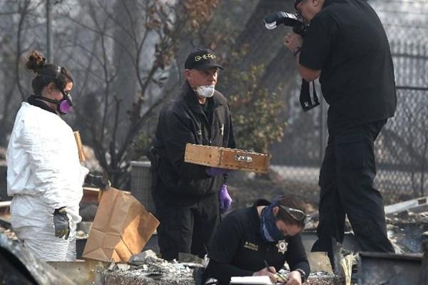 تلفات آتشسوزی کالیفرنیا به 74 کشته و 1011 مفقود افزایش یافت - 3