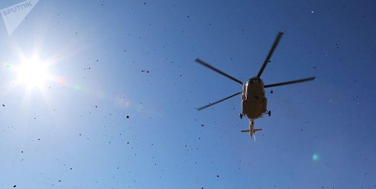 سقوط یک بالگرد ارتش اتیوپی