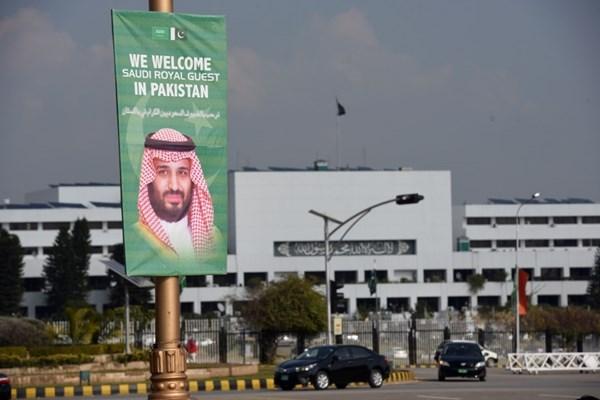 استقبال سرد مردم پاکستان از ولیعهد عربستان+تصاویر - 11