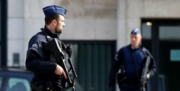 آمادهباش امنیتی در نزدیکی مقر اتحادیه اروپا