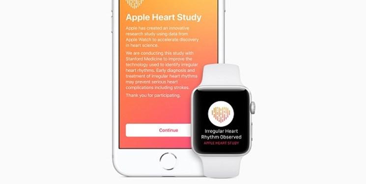استفاده از ساعت اپل برای شناسایی مشکلات قلب