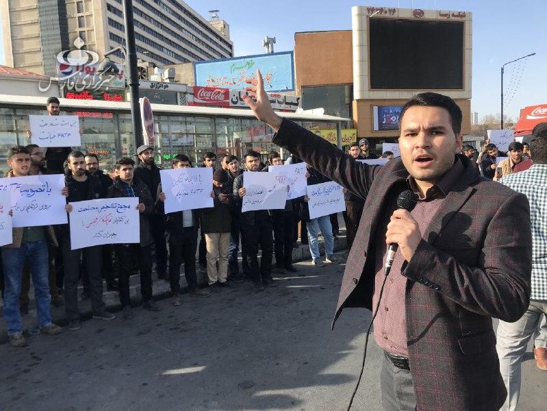 برگزاری تجمع دانشجویان کشور در اعتراض به تصویب پالرمو و CFT - 11