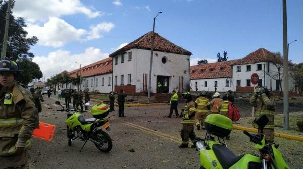 انفجار خودروی بمبگذاری شده در کلمبیا - 2