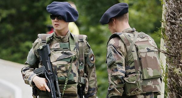 اعزام ارتش فرانسه برای مقابله با تظاهرات جلیقه زردها - 1