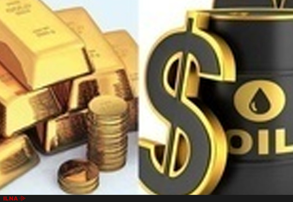 کاهش قیمت نفت و افزایش بهای طلا در بازارهای جهانی - 1