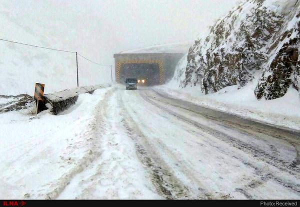 ۷ استان کشور درگیر برف و باران شدند - 1