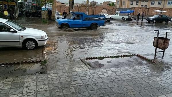 آبگرفتگی در معابر اصلی تهران/ شیخ فضل الله نوری و شرق به غرب همت دچار آبگرفتگی شدید شدند - 2