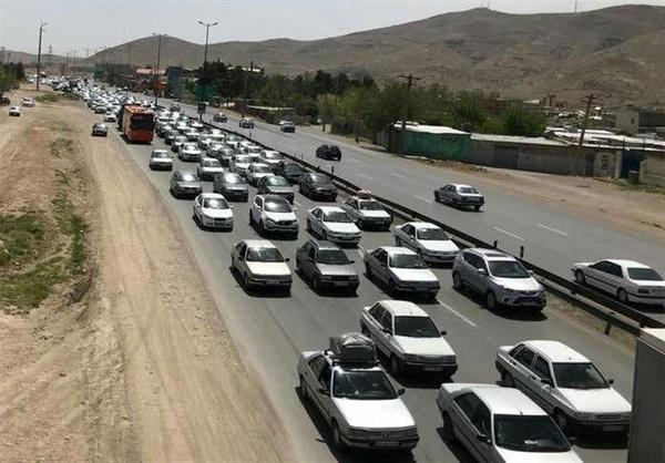 ترافیک سنگین در جنوب به شمال محور قزوین رشت - 2