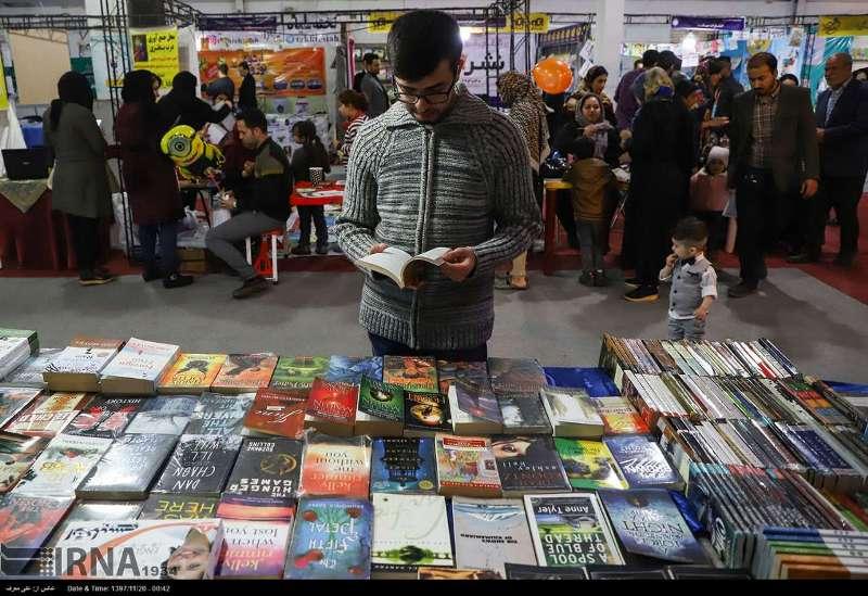 فروش کتاب در سیزدهمین نمایشگاه کتاب خوزستان ۲۰ درصد رشد داشت