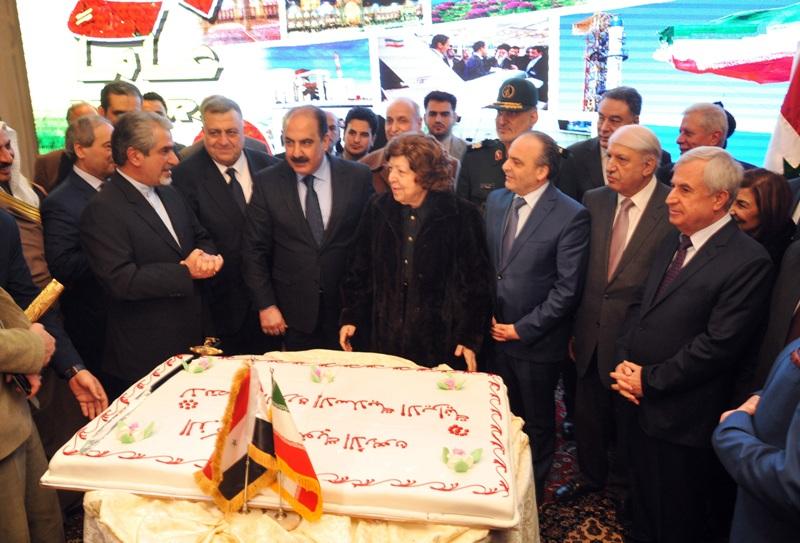 جشن چهل سالگی انقلاب اسلامی در سوریه برگزار شد