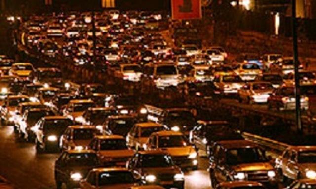 ترافیک در راههای البرز سنگین است