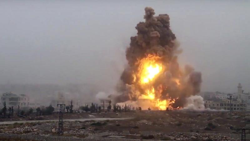 چهار کشته و ۳۶ زخمی بر اثر انفجار مین در دیرالزور سوریه