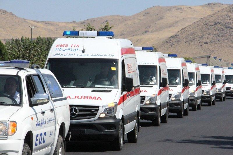 ۴۲ دستگاه آمبولانس درطرح نوروزی اورژانس قم فعال است