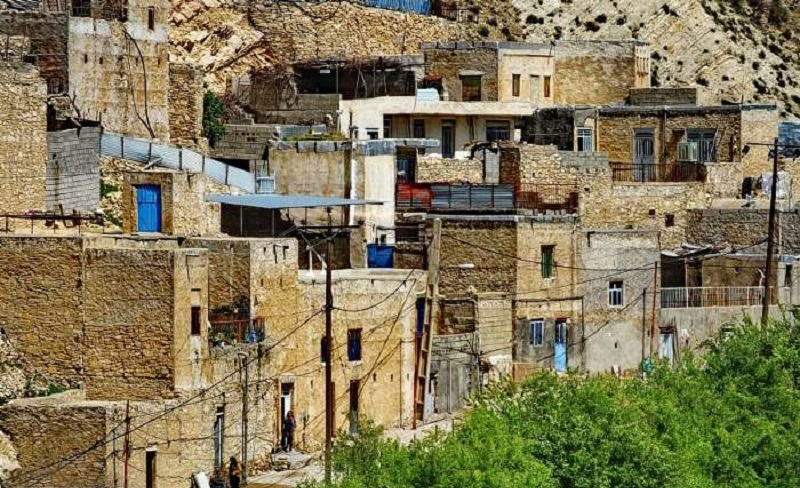 روستای مارین گچساران، ماسوله جنوب ایران