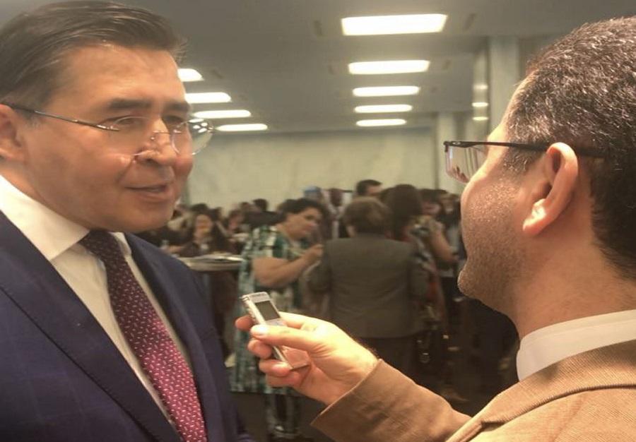 سفیر ازبکستان: جشن نوروز نمادی از مشارکت برای جهان جدید است