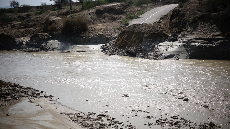 سیل و طغیان رودخانهها ۳۰ میلیارد ریال به خلخال خسارت زد